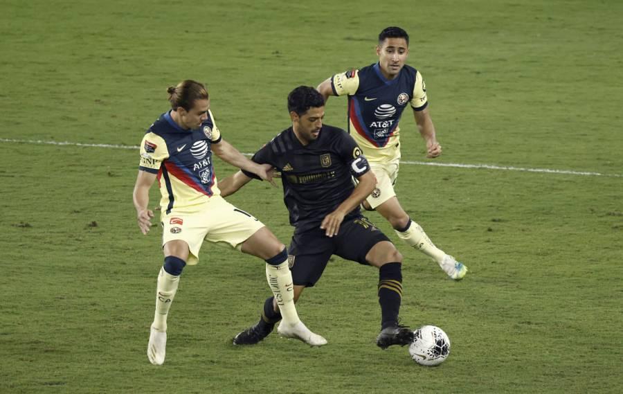 Carlos Vela fulmina al América y LAFC se mete a la final de Concachampions