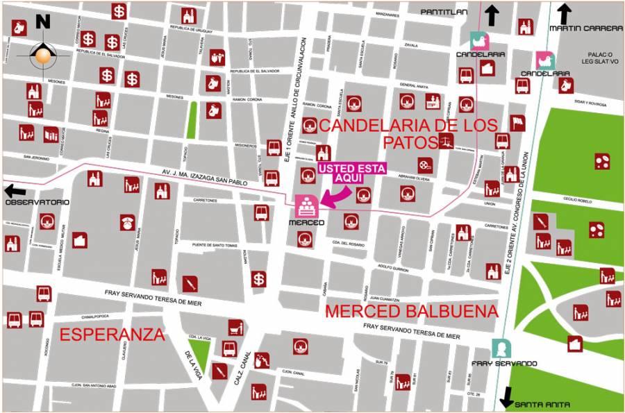 Cierran estación Bellas Artes y Merced del Metro