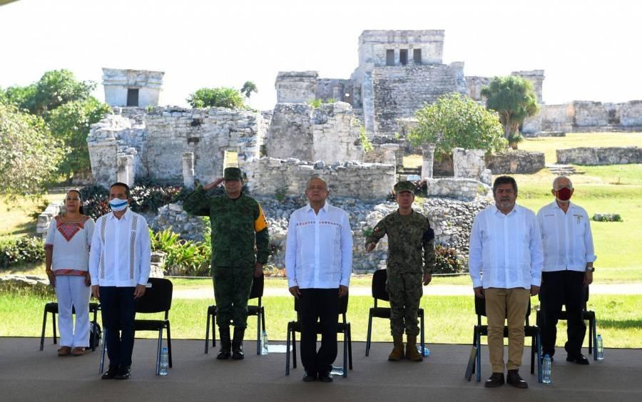 Ejército operará Tren Maya y 4 aeropuertos: AMLO
