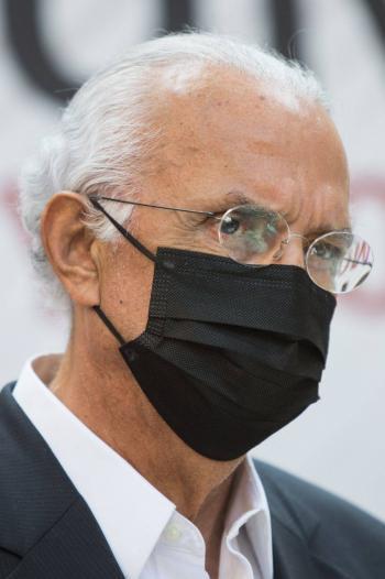 Él es Navarro Quintero, contendiente a la gubernatura de Nayarit por Morena
