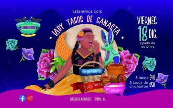 Lady Tacos de Canasta estrena local de comida cerca del Metro y Metrobús Etiopía