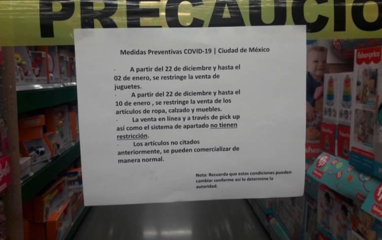 Walmart suspende venta de juguetes en la CDMX