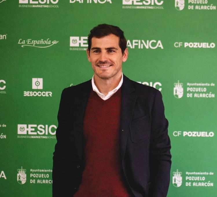 Iker Casillas vuelve al Real Madrid