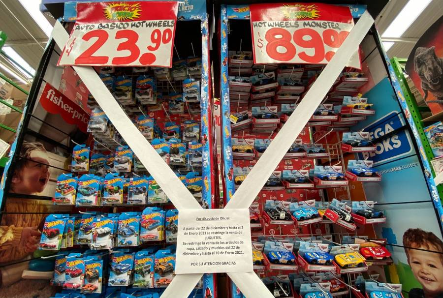 Tiendas de autoservicio sí pueden vender productos no esenciales, aclara el gobierno capitalino