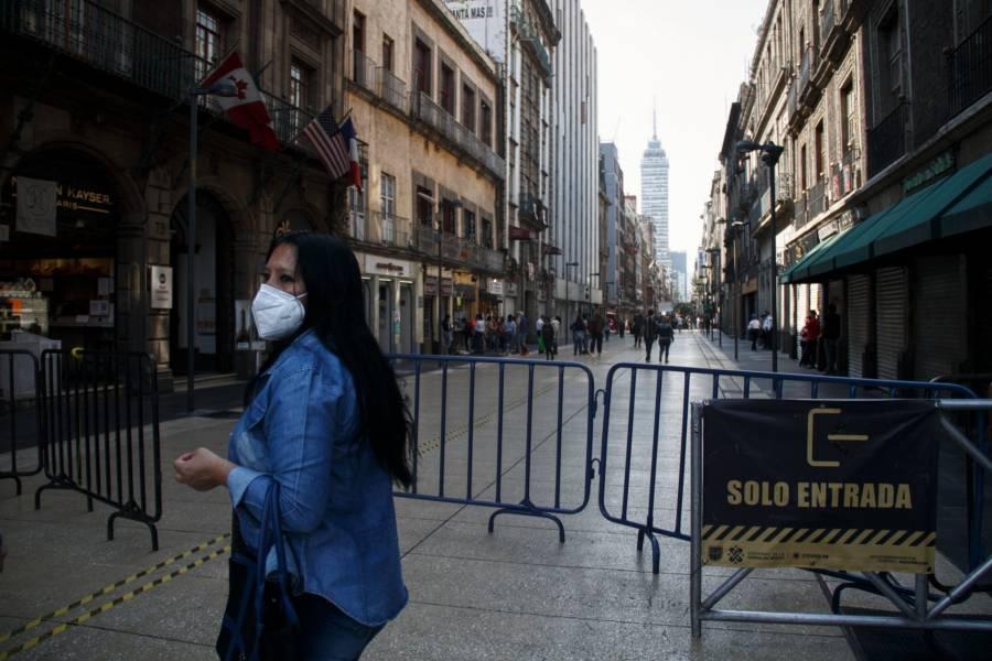 Reportan baja afluencia de visitantes en el Centro Histórico