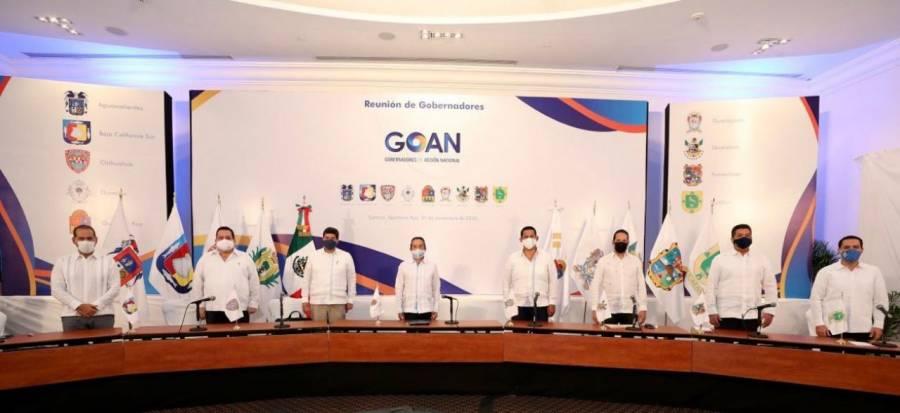 Llegará 2021 con oportunidades, igualdad y empleo: Gobernadores de Acción Nacional