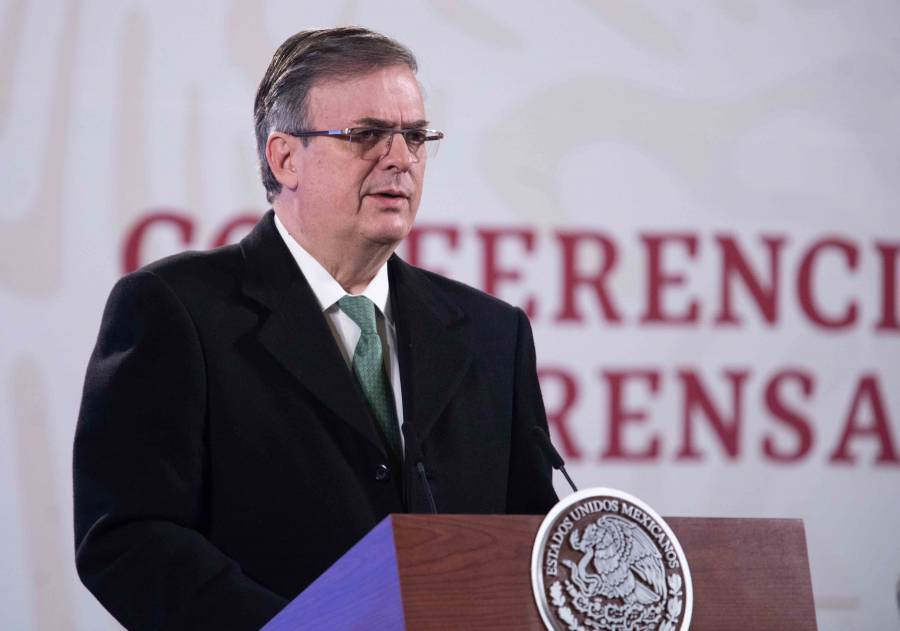 Llegarán hoy primeras vacunas Covid, anuncia Marcelo Ebrard