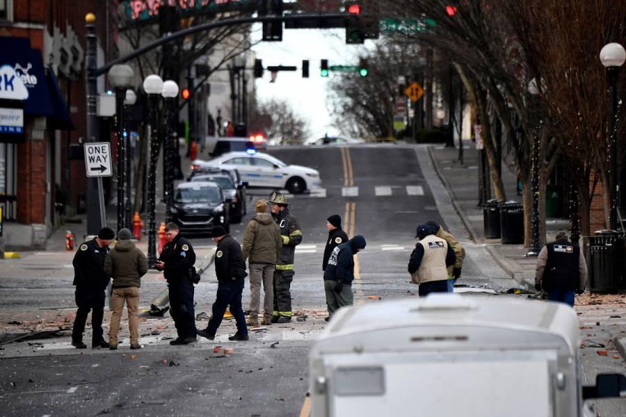 Explosión en Nashville deja al menos tres heridos; habría sido planeada
