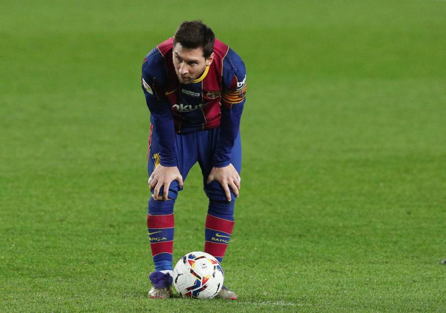 Barcelona descarta a Messi contra el Eibar por lesión en el tobillo