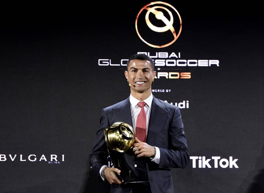 Globe Soccer Awards, elige a Cristiano Ronaldo como el mejor jugador del siglo XXI
