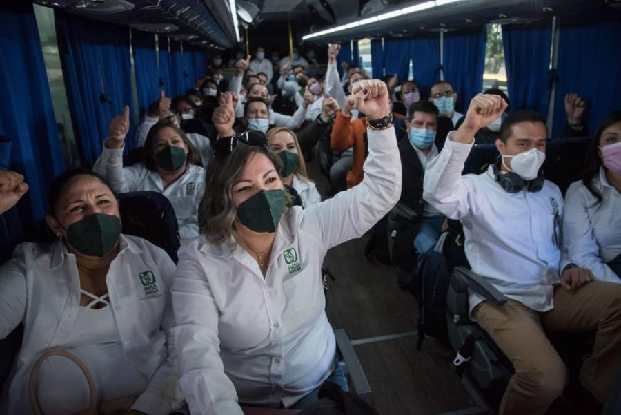 Agradece Claudia Sheinbaum llegada de médicos del IMSS a la CDMX por Operación Chapultepec