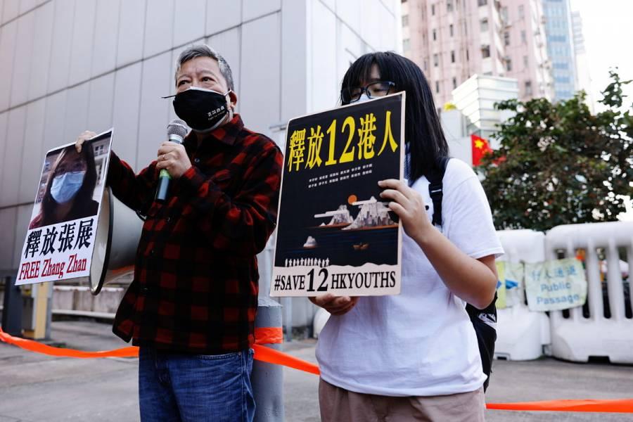 China condena a cuatro años de cárcel a periodista que cubrió el primer brote de COVID-19