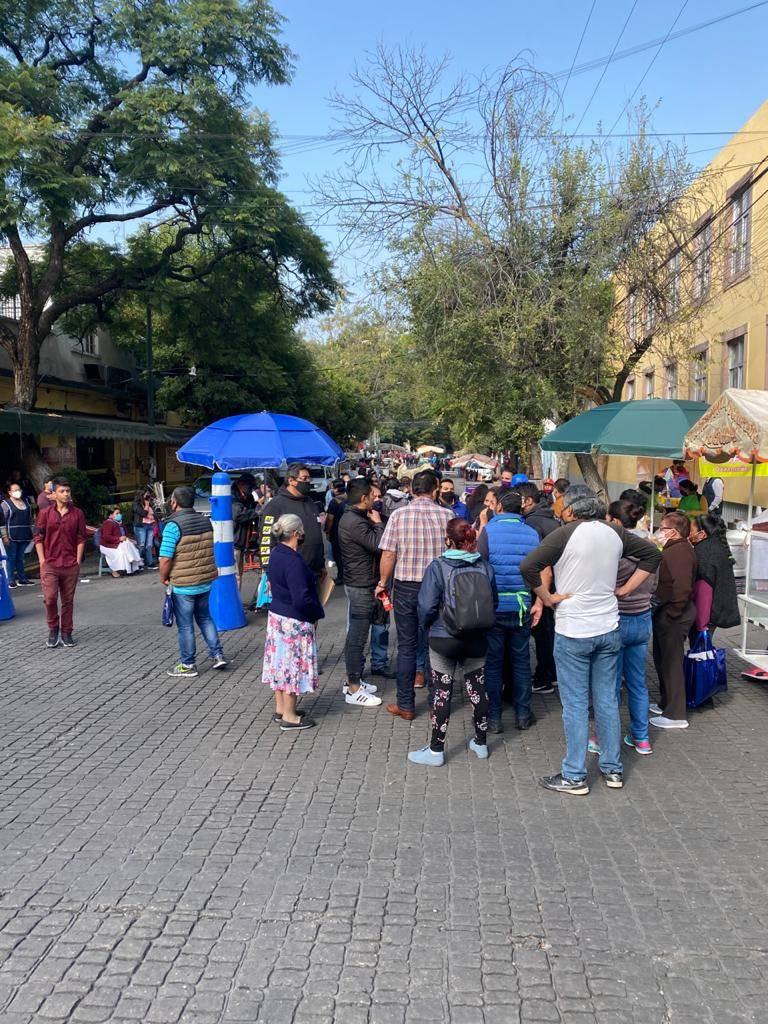 Buscan evitar aglomeraciones en Venustiano Carranza y Cuauhtémoc