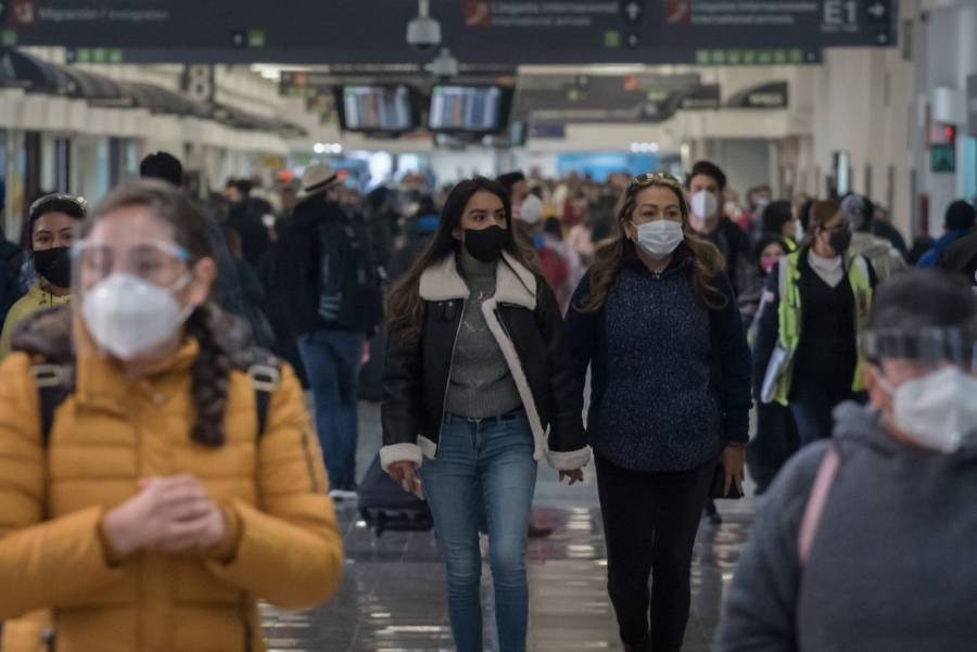 Capitalinos salen de viaje pese a pandemia