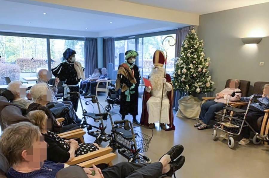 Reciben a Santa en asilo y  mueren 18 ancianos por Covid