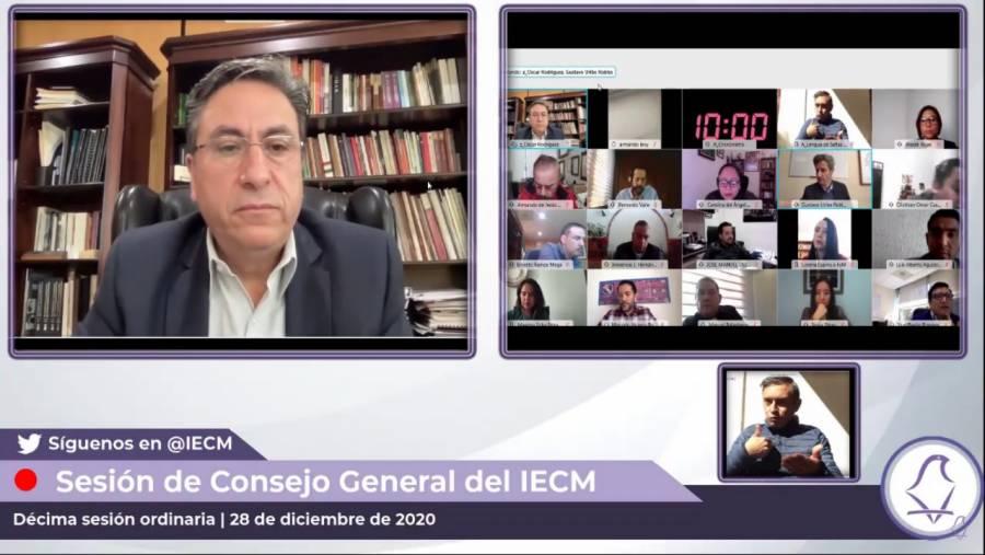 Aprueban reformas al reglamento del IECM para uso de herramientas tecnológicas
