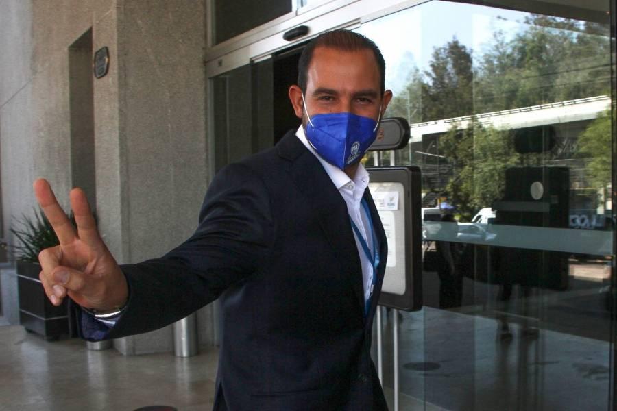 Pretenden hacer propaganda con fármaco, acusa Marko Cortés