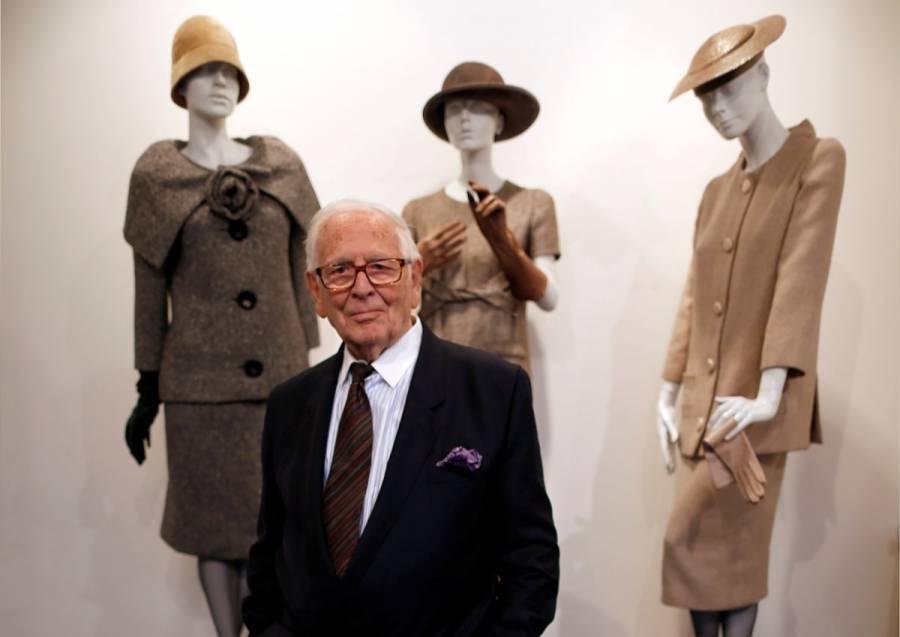 Muere Pierre Cardin, reconocido diseñador de moda francés