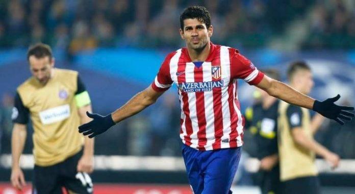 Deja el delantero Diego Costa al Atlético de Madrid