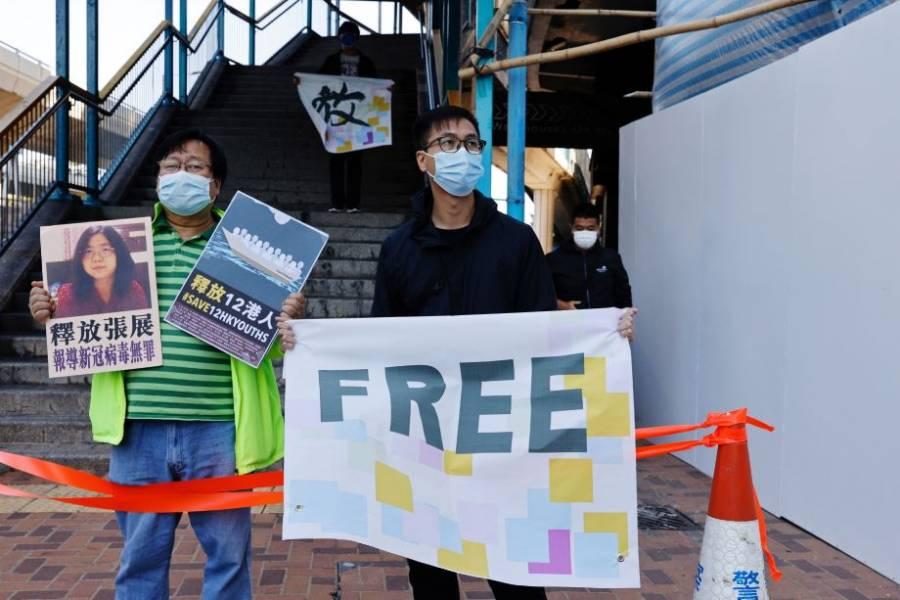 UE pide a China la liberación de periodista que reportó sobre COVID-19