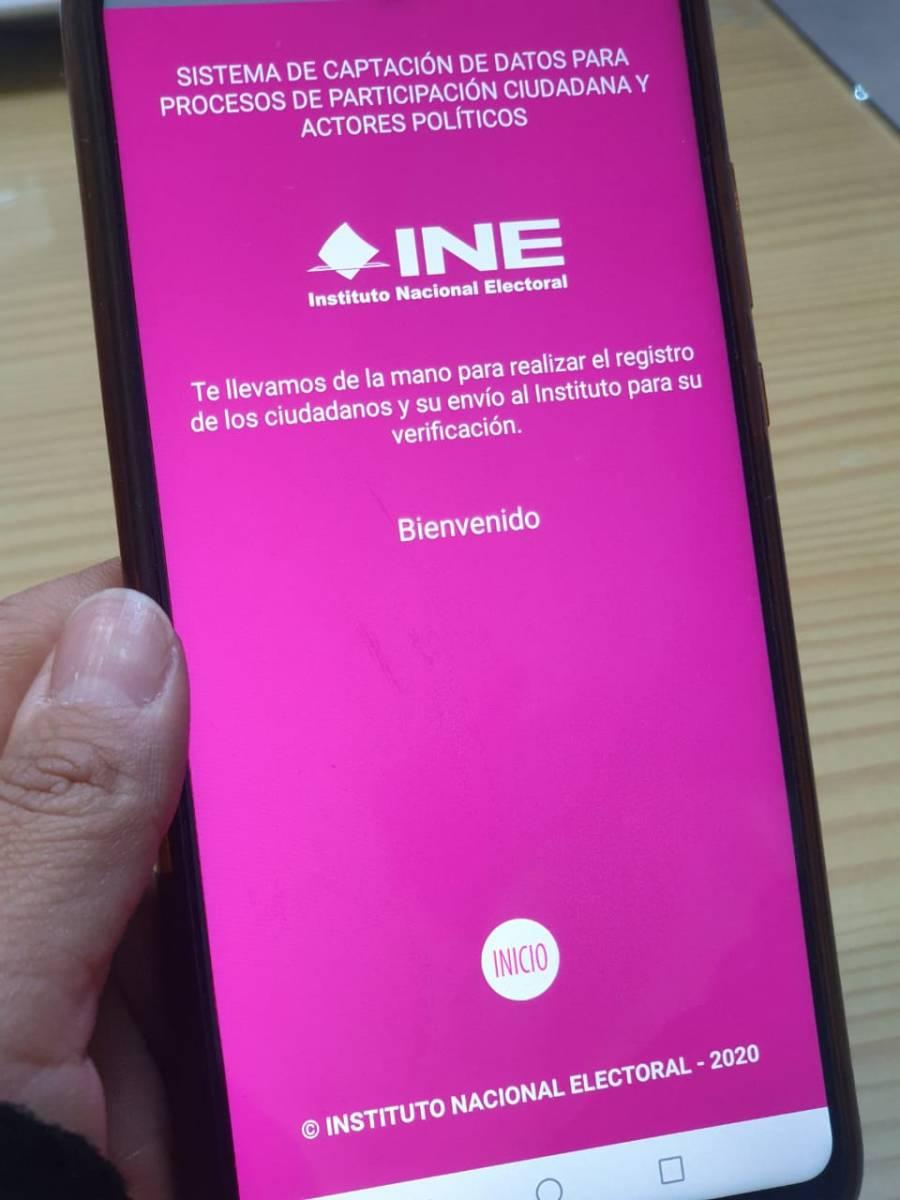 INE da luz verde a la app de firmas de apoyo para independientes