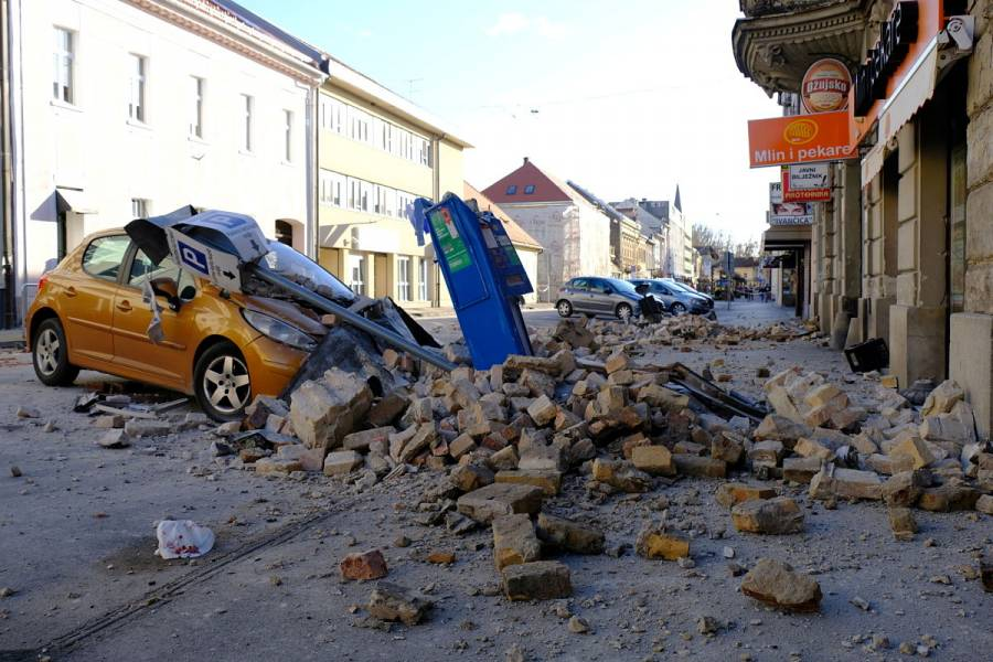 Fuerte sismo sacude Croacia; Eslovenia cierra planta nuclear como precaución