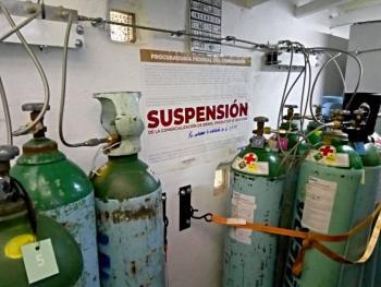 Clausuran dos locales de venta de tanques de oxígeno