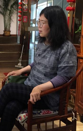China da cuatro años de prisión a  periodista que informó sobre Covid