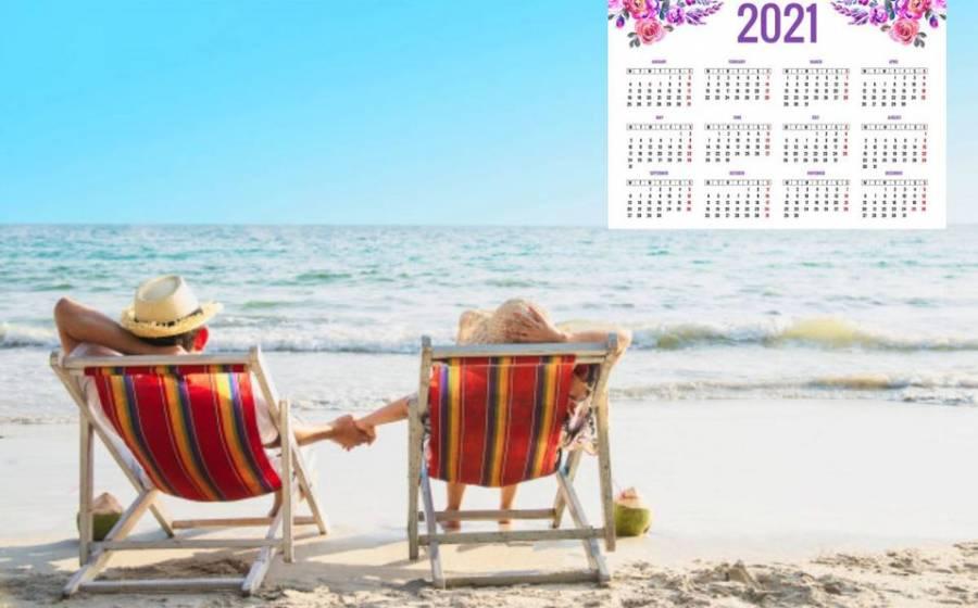 Tendrá 2021 siete días feriados