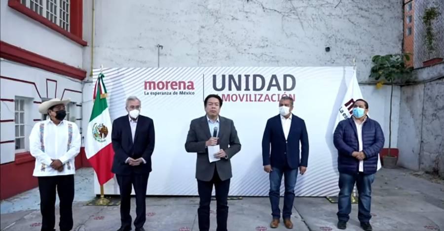 Anuncian candidaturas de Morena a las gubernaturas de Guerrero, Michoacán y Sinaloa
