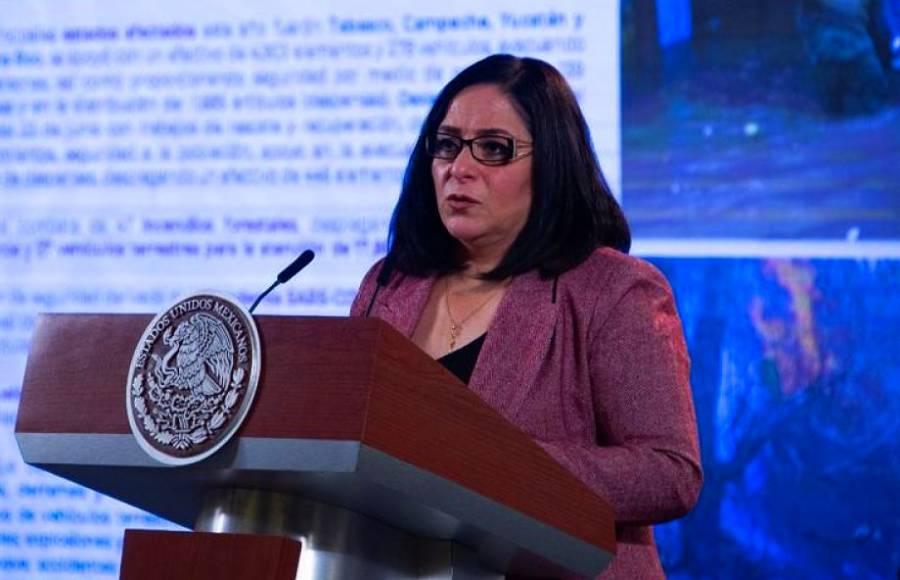 No hay límite de recursos de ayuda a Tabasco: Laura Velázquez
