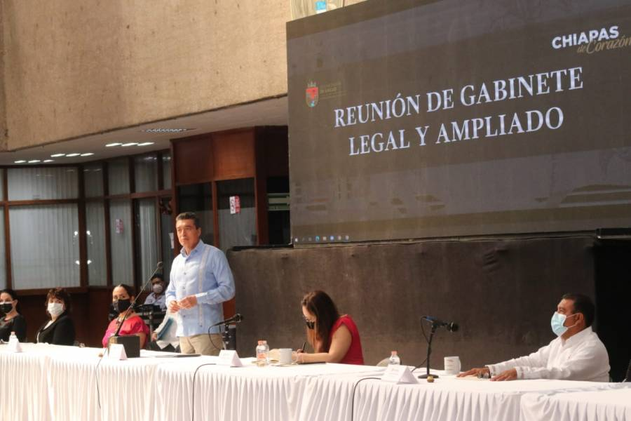 La ley se aplicará sin distinción a quien cometa un delito electoral en Chiapas: Rutilio Escandón