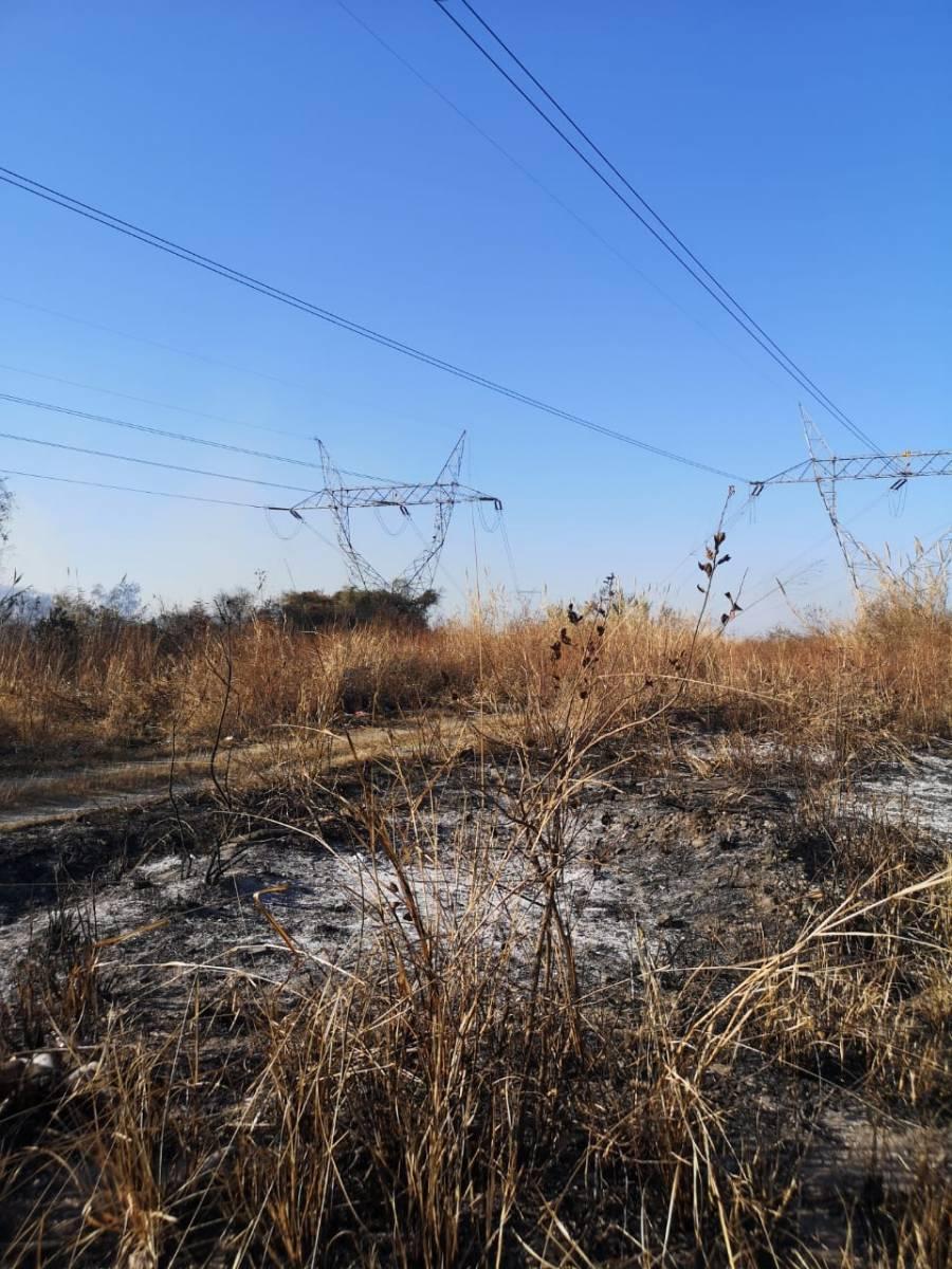 Presidencia da a conocer imágenes del incendio en Tamaulipas que provocó apagón