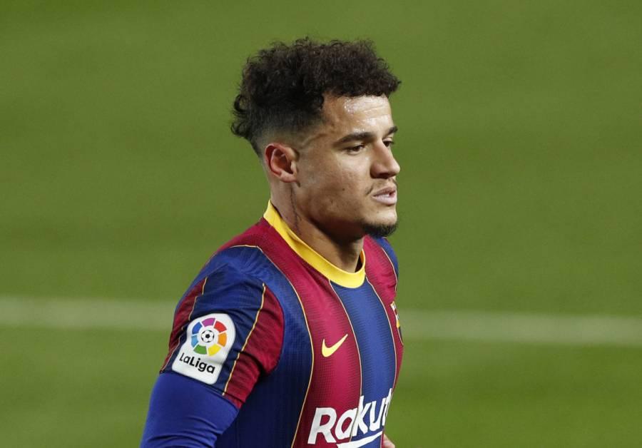 Coutinho será operado de la rodilla izquierda; causará baja del Barcelona