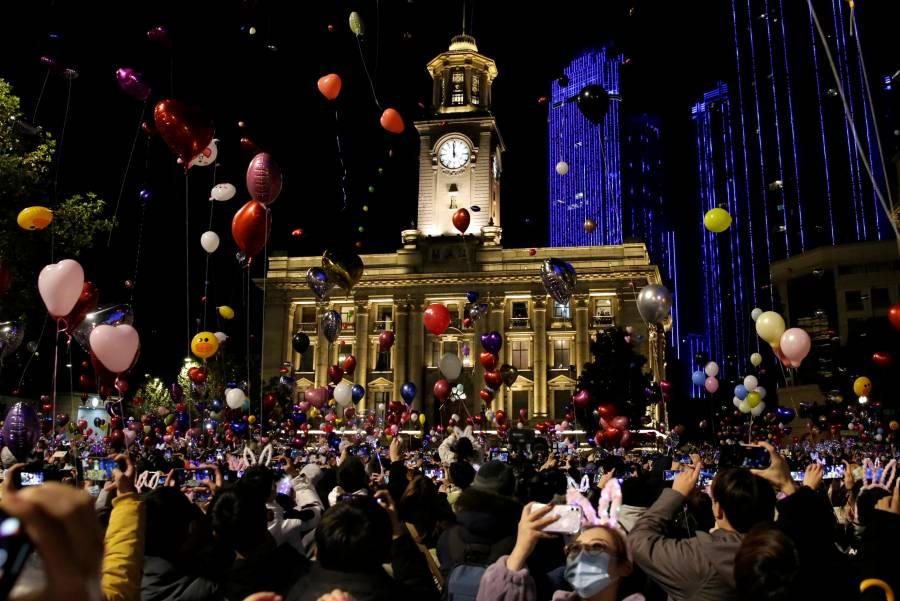 Wuhan celebra año nuevo como si no existiera el Covid
