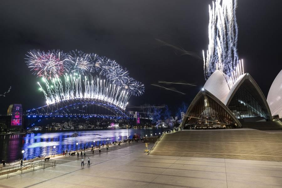 Video: Así se celebra la llegada del 2021 en el mundo