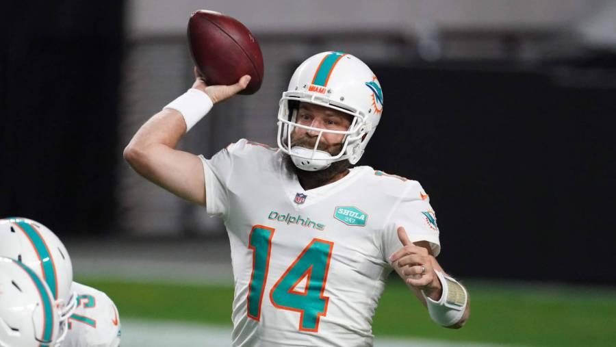 Ryan Fitzpatrick a cuarentena se perderá partido contra los Bills