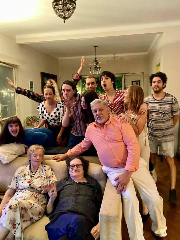 Charly García y la familia de Cerati juntos en la Noche Buena Argentina