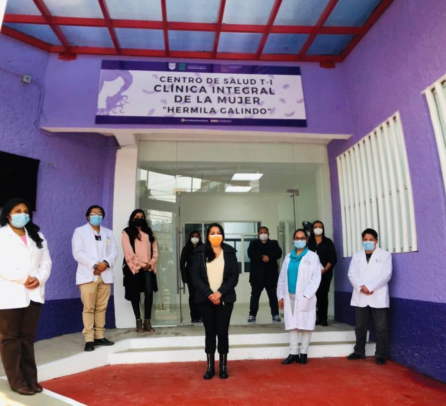 Concluyen clínica para mujeres en Magdalena Contreras