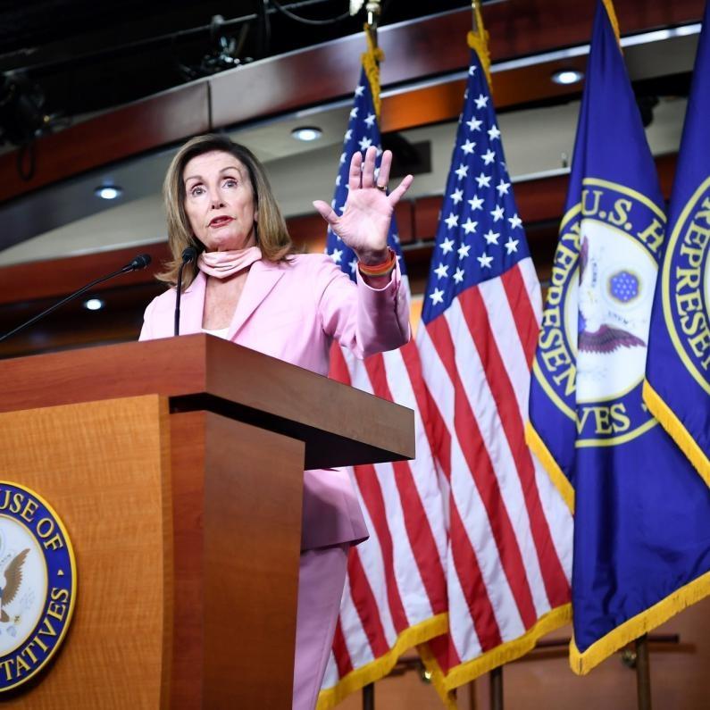 Reeligen a Pelosi como presidenta de la Cámara Baja de EE. UU.