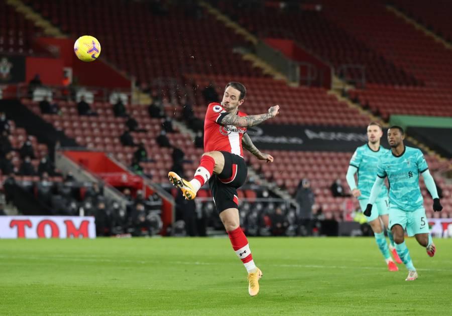 Liverpool inicia el 2021 con derrota ante el Southampton