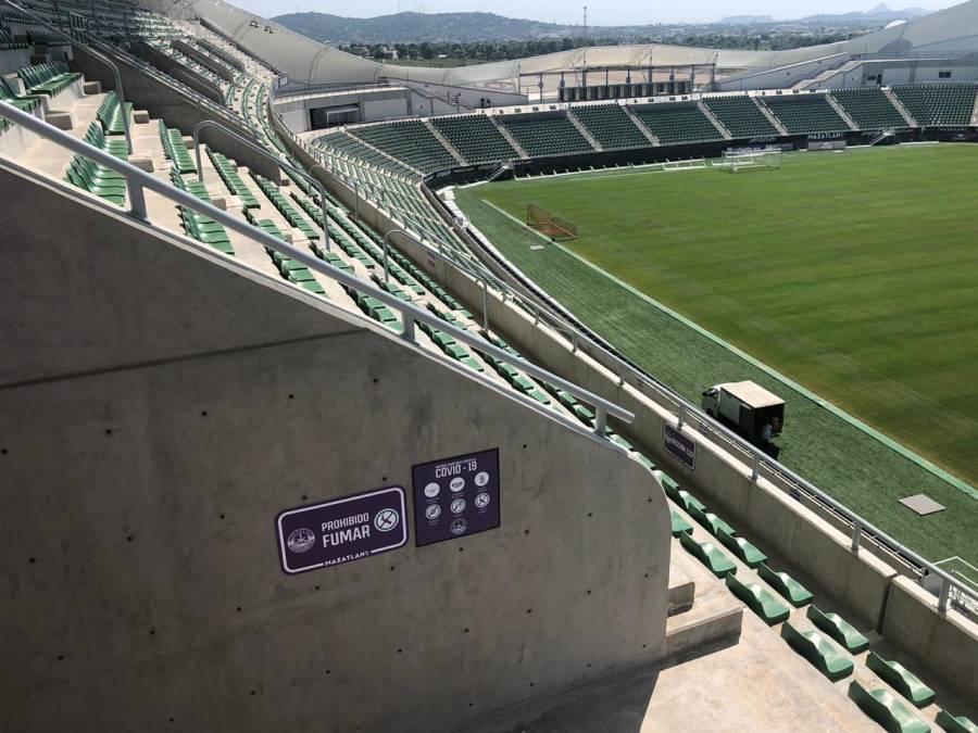 Primer partido de local del Mazatlán FC tendrá público
