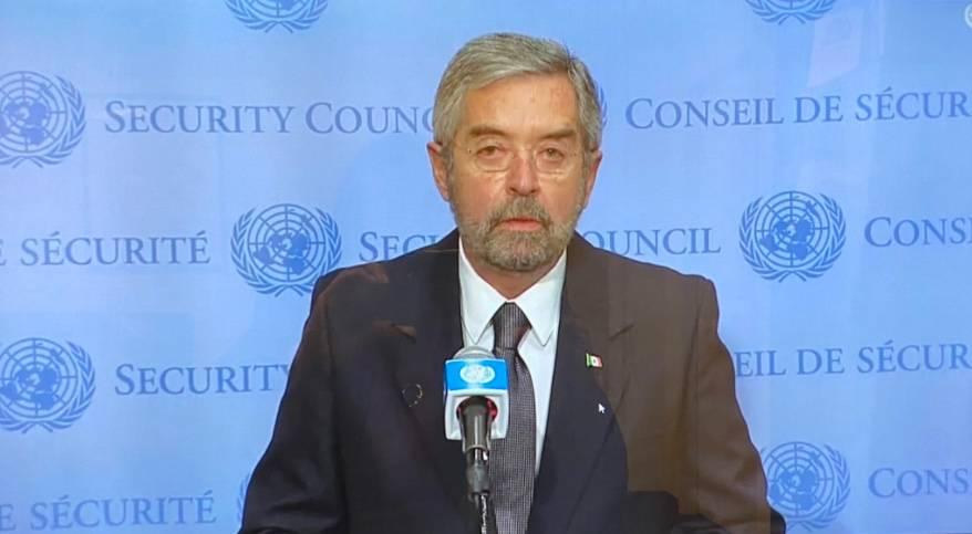 México resalta compromiso con el multilateralismo en su debut en el Consejo de Seguridad de la ONU