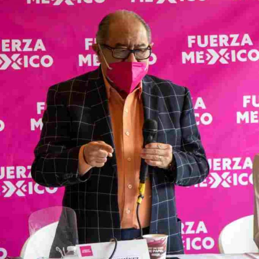 Hospitalizan por Covid a Manuel Jiménez Guzmán, dirigente de Fuerza México