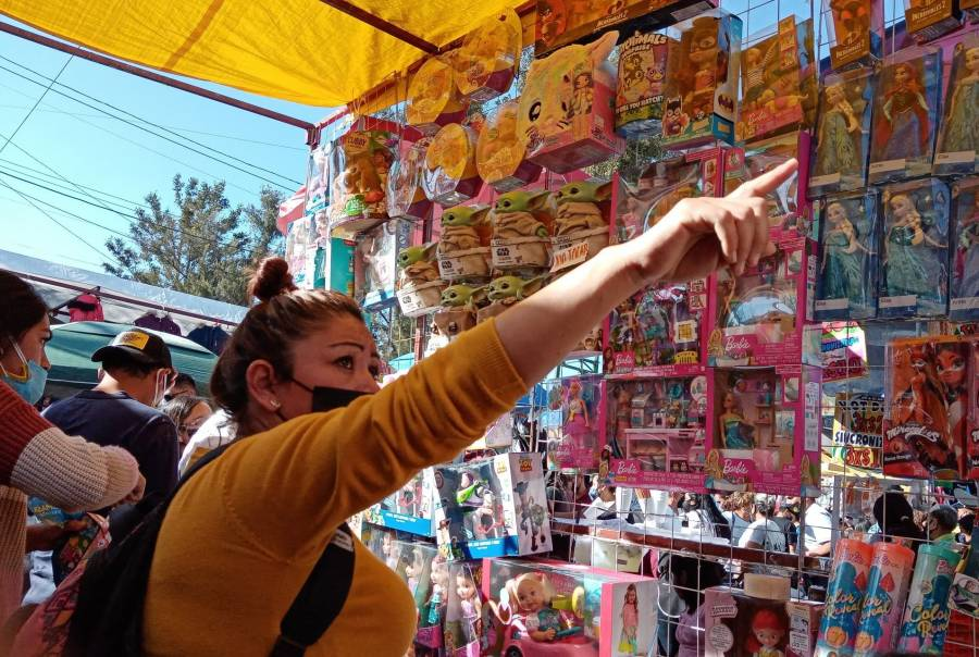 Ante pandemia se realiza en Nezahualcóyotl la 1era. Feria virtual del juguete