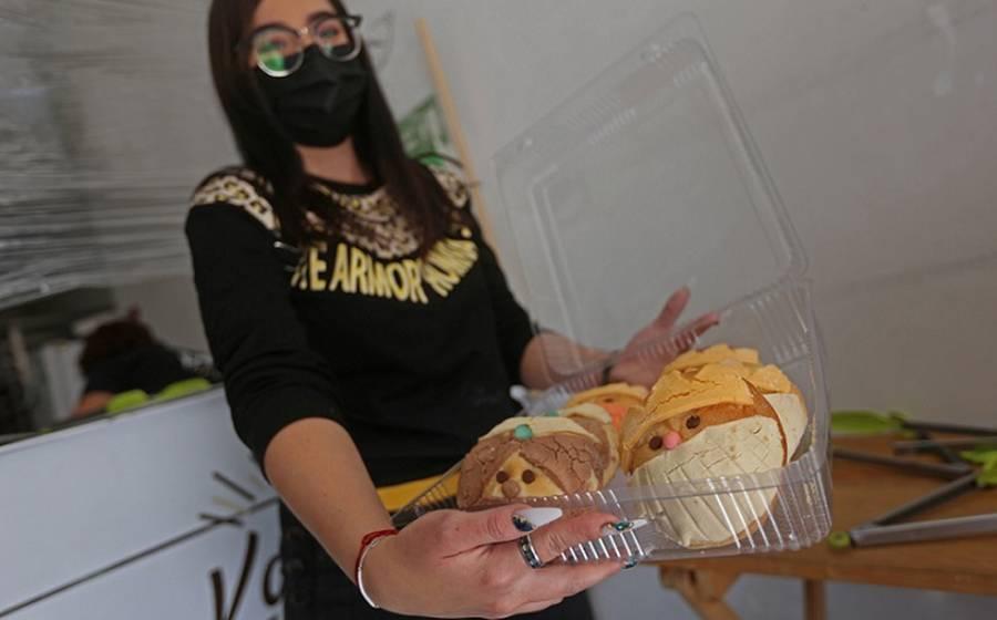 Con conchas, panadería personifica a los Reyes Magos