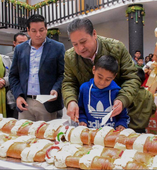 Ayuntamiento de soledad partirá y compartirá su tradicional rosca de reyes