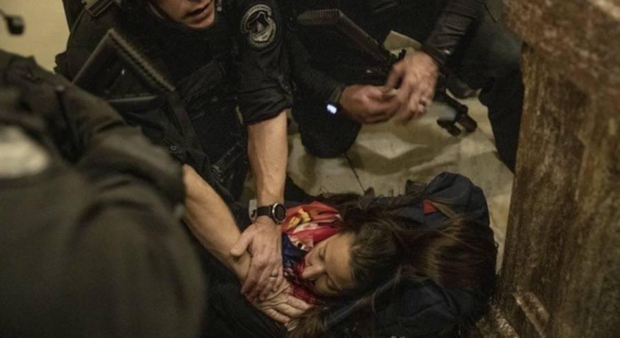 Muere mujer que recibió herida de bala en toma del Capitolio