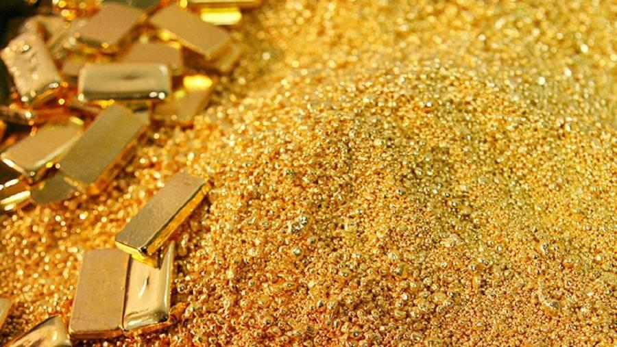 Oro cae más de 2% por rebote del dólar