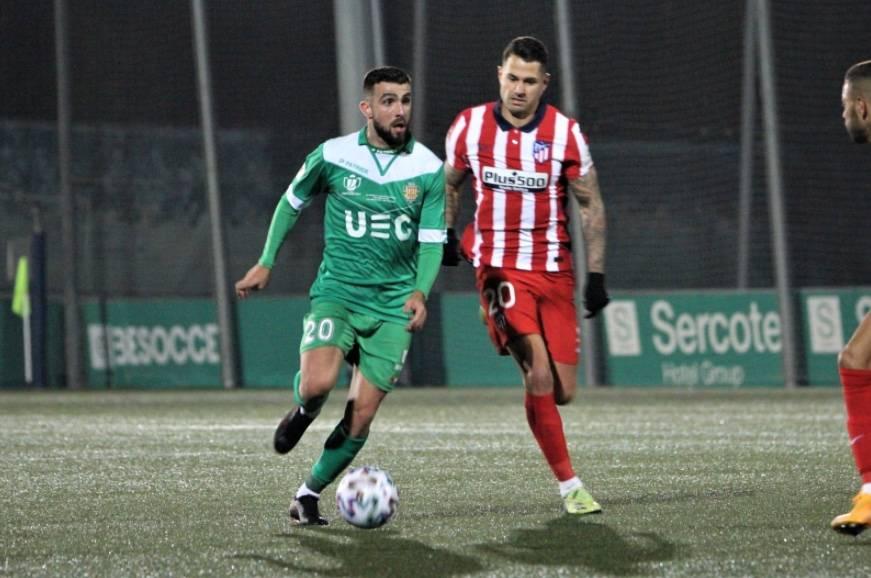 Cornellá, equipo de tercera división, elimina al Atlético de Madrid en la Copa del Rey